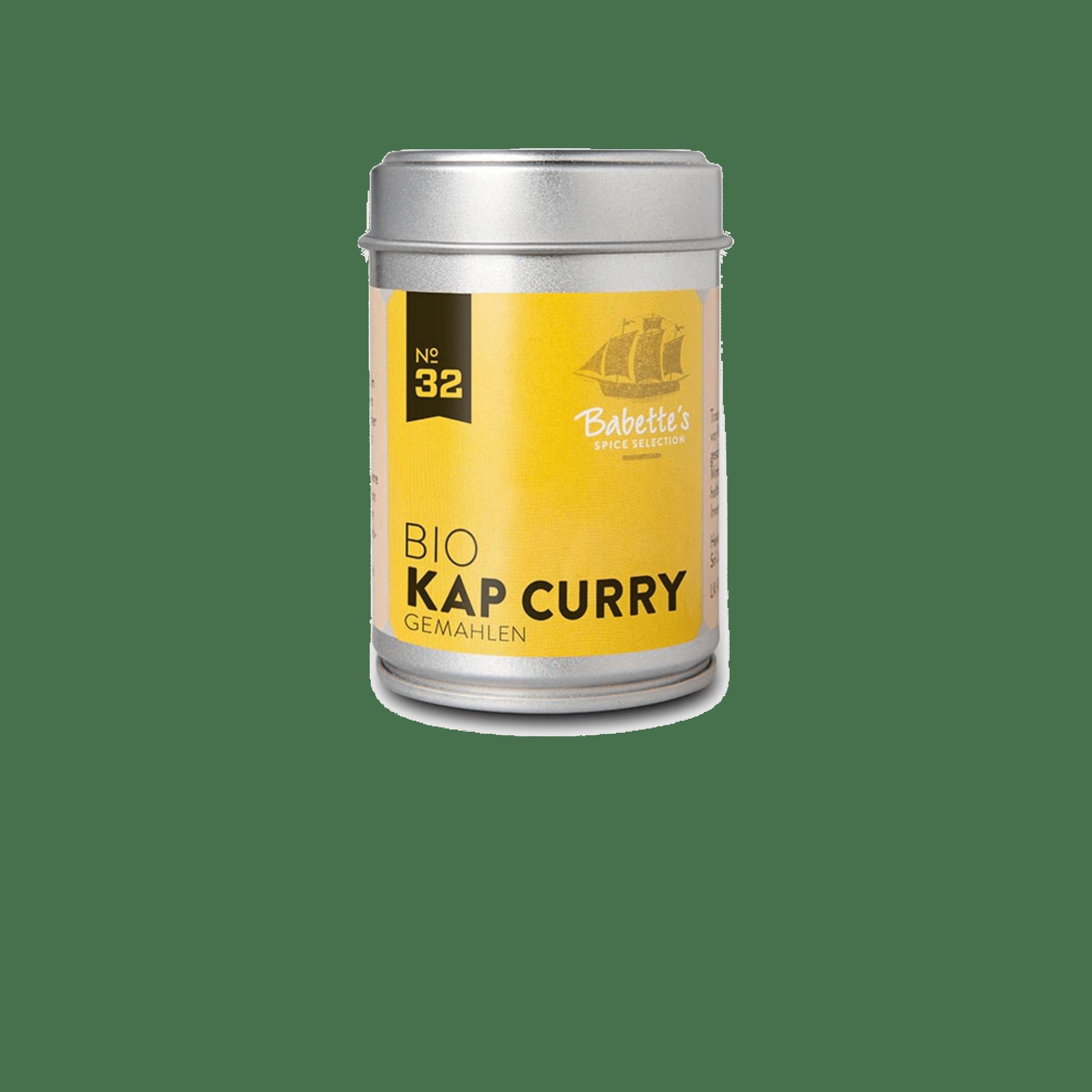 Bio Kap Curry Gewürz Feinkost