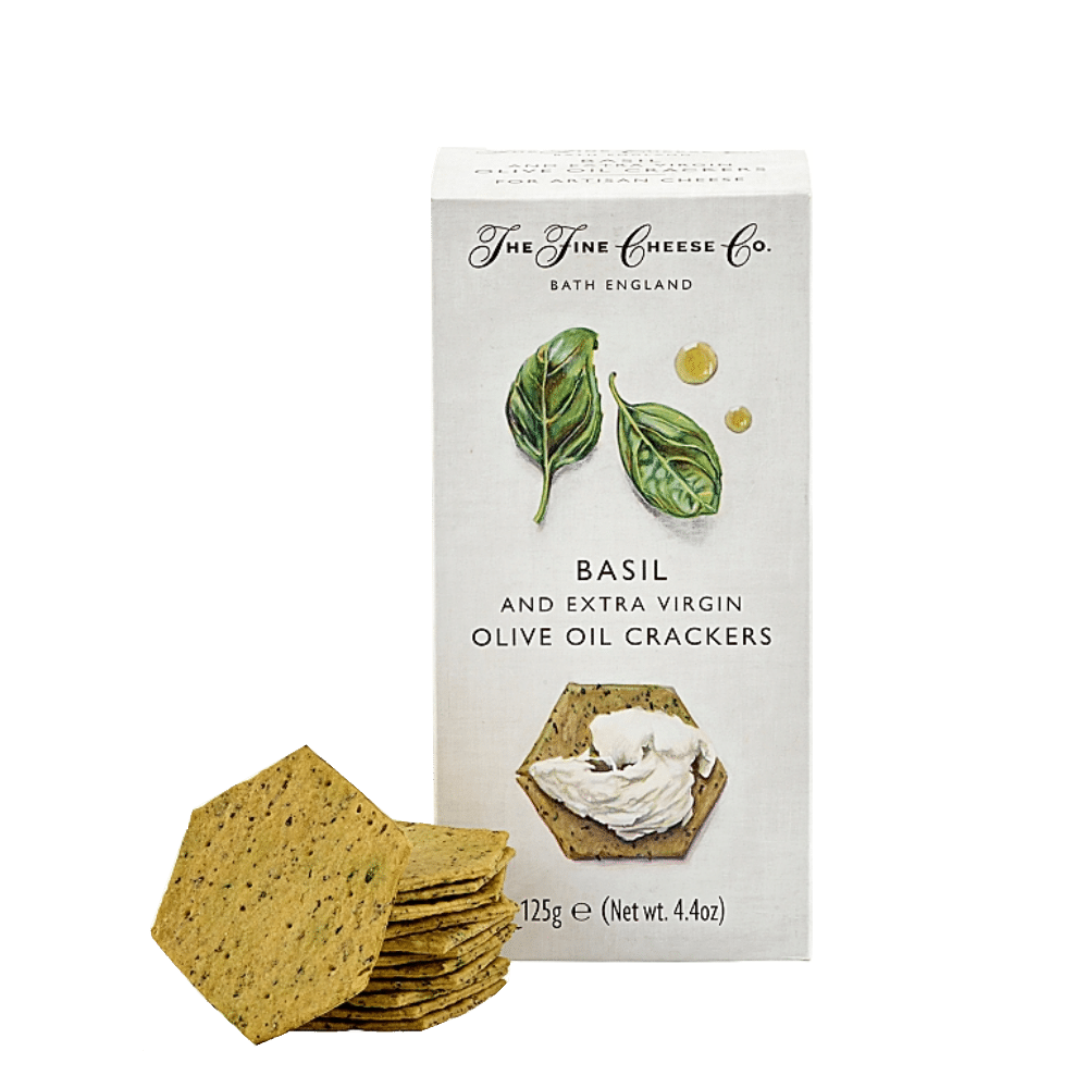 Basil Crackers - Fine Cheese